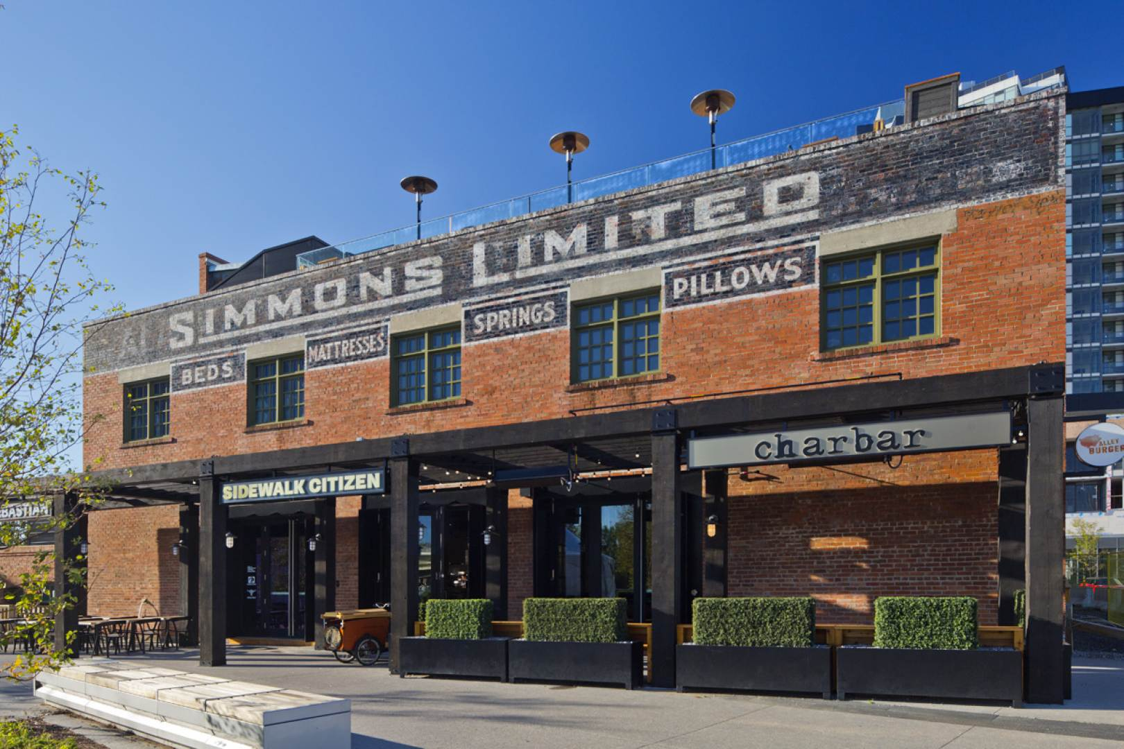 Simmons Mattress Building Restoration