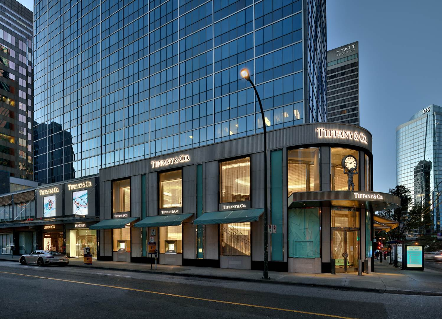 Tiffany & Co. Vancouver Flagship Store