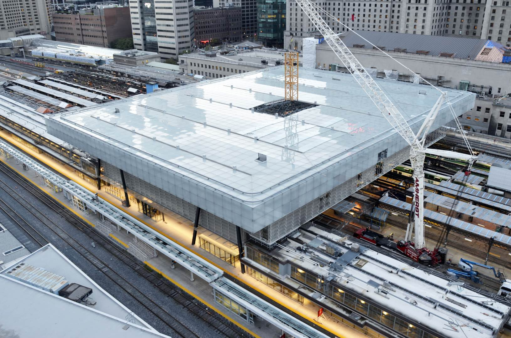 Union Station Train Shed Renovation and Atrium