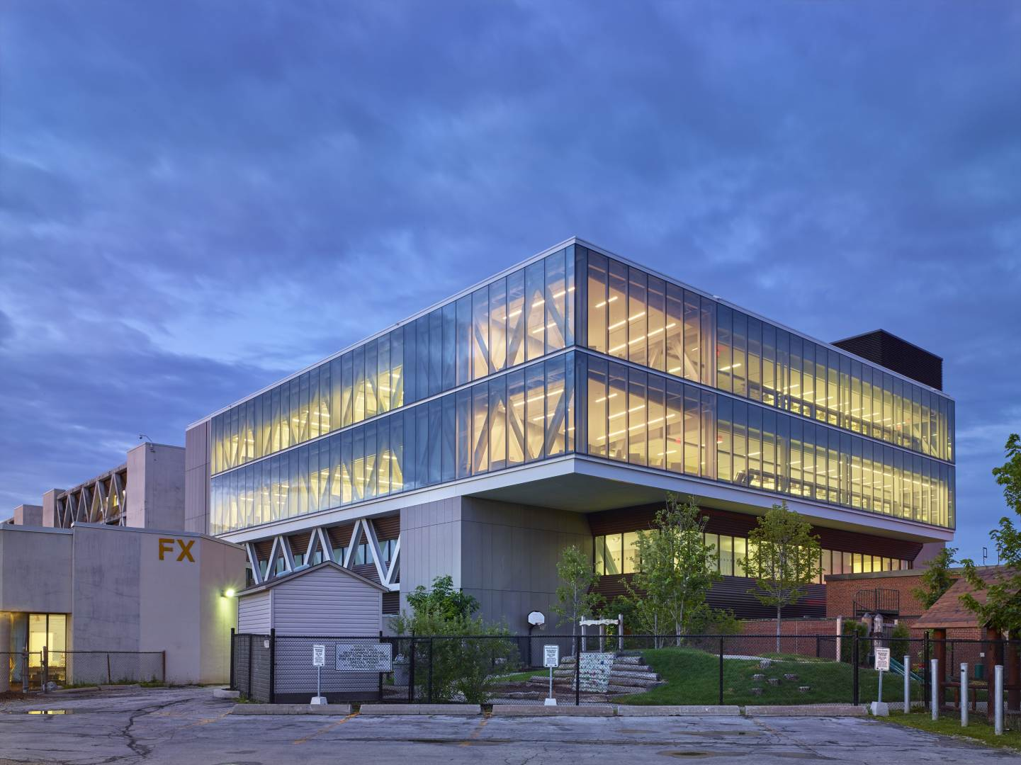Humber College F Building Health Science Addition