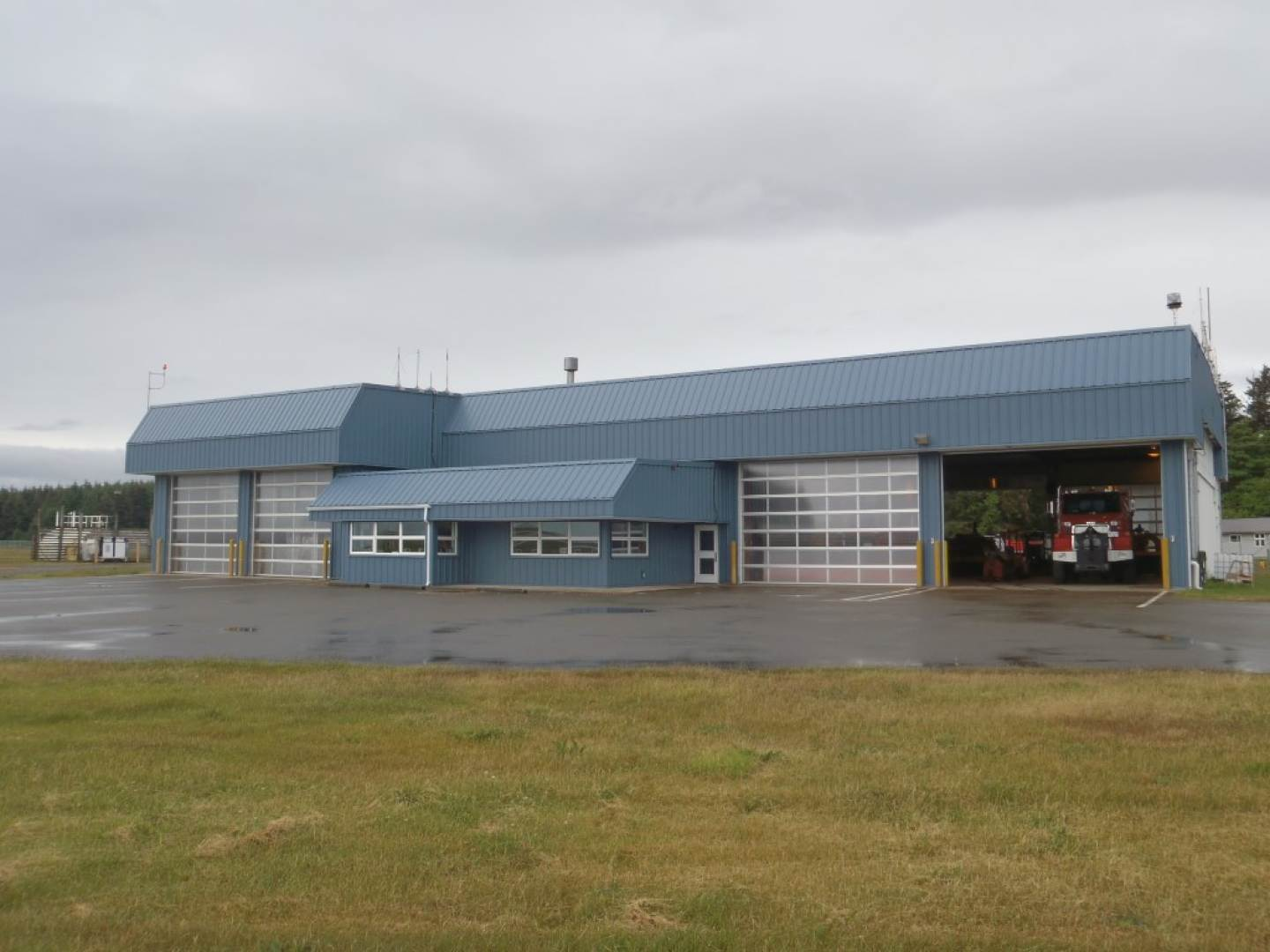 Sandspit Airport Combined Services Building