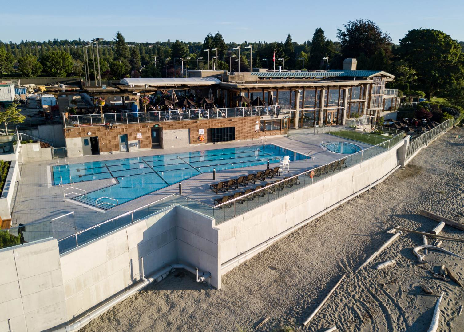 Jericho Tennis Club Pool Renovation