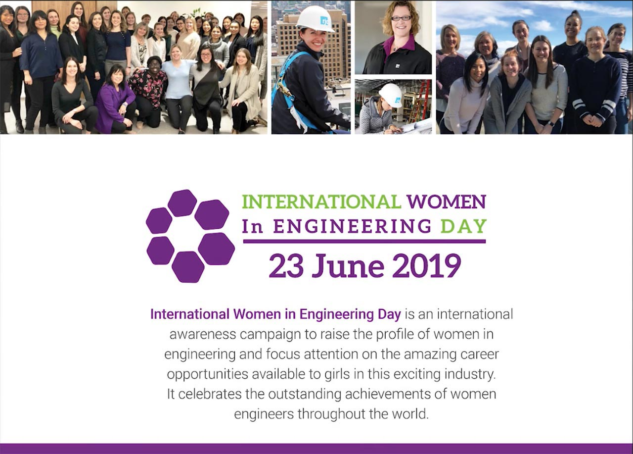 Women in Engineering Day 2019
